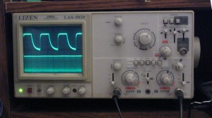 LIZEN LAS-5020 20 MHz 2-channel analog oscilloscope